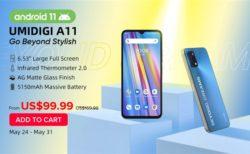 iPhone12風フラットデザイン「UMIDIGI A11」発売! 3キャリアプラチナバンド対応で約1.1万円