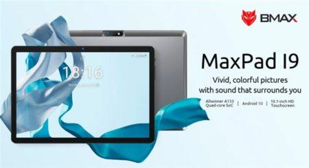 予想の斜め下をいくスペックのタブレット「BMAX MaxPad I9」発売~10.1インチでコスト重視なら