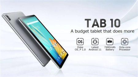 スマホメーカーがタブレットを乱発!?「Blackview Tab10」が発売へ~10.1インチWUXGAのエントリーモデル