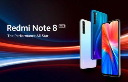 Xiaomi 2021年型「Redmi Note8 2021」を発売~スペックアップしてOSもAndroid11ベースのMIUI12.5に刷新