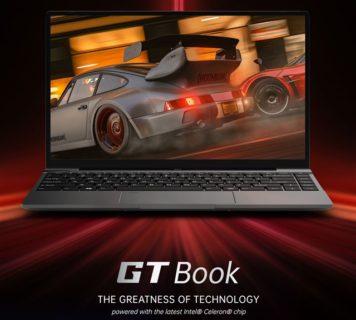 JasperLake世代Celeron搭載14.1インチノートPC「ALLDOCUBE GT Book」発売~12GB RAM/256GB SSD搭載で3万円台は魅力