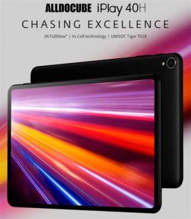 【30ドルオフ限定クーポン追加】あの大人気タブレットの後継機「ALLDOCUBE iPlay 40H」が発売! 10.4インチ2K解像度/8GB+128GB/AnTuTu 21万点のハイパフォーマンスは健在