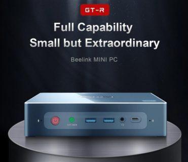 【8GB+256GB版クーポン追加】Ryzen 5 3550H搭載のパワフルミニPC「Beelink GT-R」発売~NVMe SSD+1TB HDD構成で死角無し