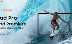 CHUWI 10.8インチスナドラ662搭載Android11タブレット「HiPad Pro」発売!8月3日~特別価格199.99ドル!