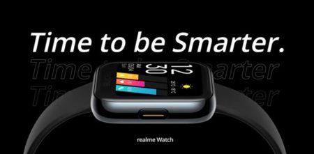 OPPOからAppleWatch似スマートウォッチ『realme Watch』が発売中~SpO2モニタ搭載/クーポン使えば4000円台