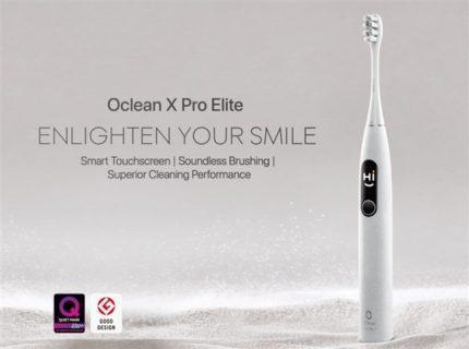 スマホと連動する電動歯ブラシ「Oclean X Pro Elite」60ドル台で発売中~小型画面にどこが磨かれてないが表示されAIでより効率的な振動モードに変更する賢い奴