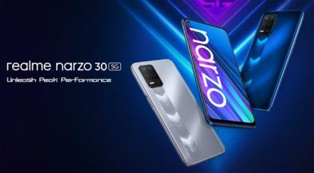2.5万円でAnTuTu27万点「realme narzo 30 5G」発売~90Hzディスプレイ/5G+4G国内3キャリアプラチナバンド対応