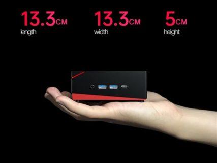 Core i9越えRyzen 5 4500U搭載ミニPC『T-BAO TBook MN45 』発売~13cm角に16GB+512GB SSD搭載の超パワフル仕様