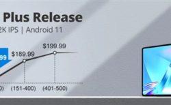 【数量限定179.99ドル!!】名機iPlay40を超えるAndroidタブレット「TECLAST T40 Plus」発売~AnTuTu21万点越え/フラットデザインでより薄く/軽く/イヤホンジャックも搭載