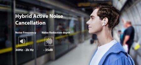 Blackview フラッグシップTWSイヤホン「AirBuds 5 Pro」発売! 35dBハイブリッドANCとプレミアムサウンドを実現 : PR