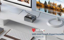 【限定20台179.99ドル】BMAXからIntel Core i5を搭載したミニPC『BMAX B5』が発売中~セールやクーポン活用で100ドル台とバカ安ミニPC