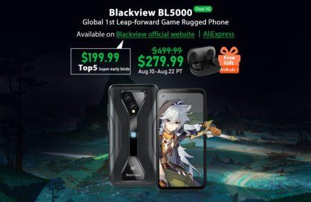 「Blackview BL5000」5Gタフネススマホでもゲームプレイ! タフネスゲーミングスマートフォンが遂に発売 : PR