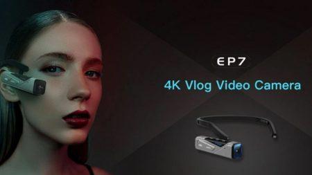 見たままに撮れる4Kアクションカメラ「ORDRO EP7」が発売中~ヘッドバンド型で76gと超軽量で4K 60fps撮影ができ2軸の手ぶれ補正も搭載