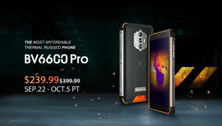 世界で最も低価格なサーマルカメラ搭載タフネススマホ「Blackview BV6600 Pro」が発売&160値引きセール : PR