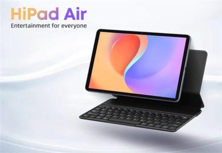 CHUWIからもUNISOC T618のパワフル廉価タブレット「CHUWI HiPad Air」が発売! 7mm厚の薄型軽量でキーボードドッキングでPCライクに使える