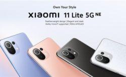 Xiaomi最薄を継承した「Xiaomi 11 Lite 5G NE」発売! スナドラ778G/6.55インチAMOLEDディスプレイ搭載329ドル~と低価格も継承