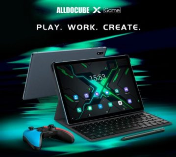 またハイコスパタブレットが出た!「ALLDOCUBE X GAME」キーボードドッキングでPCライクに使えMediTek Helio P90搭載