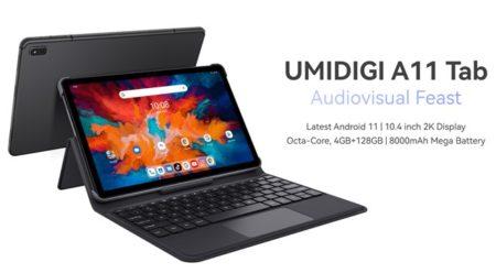 【数量限定約2万円】スマホメーカーのタブレットはツボを心得ている!「UMIDIGI A11 Tab」発売~指紋認証/クアッドスピーカー/4G 3キャリアプラチナバンド対応