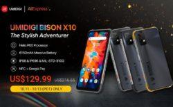 期間限定で約1.4万円~! タフかっこいい「UMIDIGI BISON X10/X10 Pro」が初のグローバルセール!