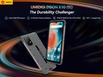 タフネスさを極めた無骨かっこいいデザイン「UMIDIGI BISON X10 Pro」発売~赤外線体温計や独立ボタン2個など普通じゃない独自性が魅力